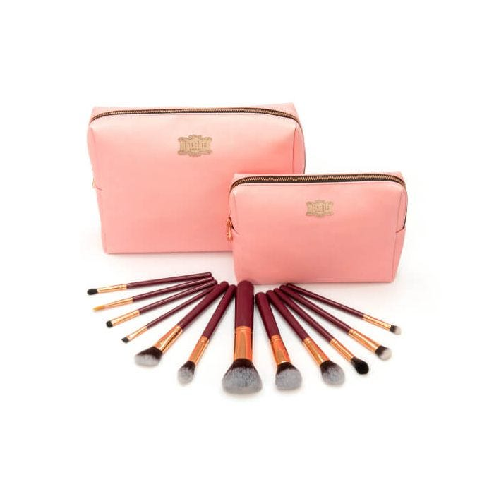 Fuschia Prestige 12 Piece Signature Brush Collection