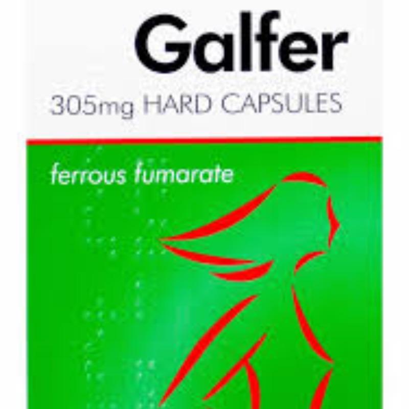 Galfer 305 Mg Hard Capsules 28Pk