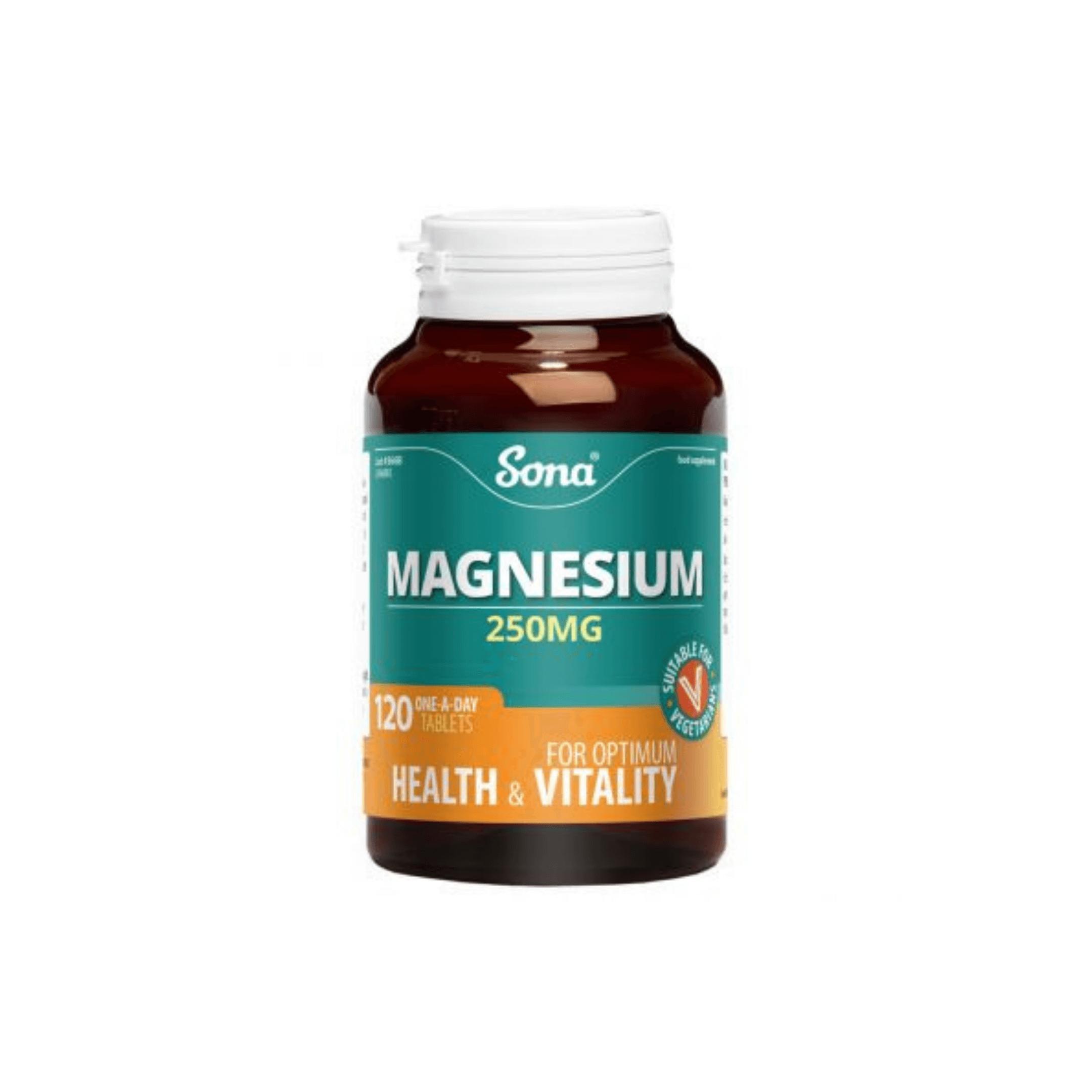 Sona Magnesium Tablets 250mg 120