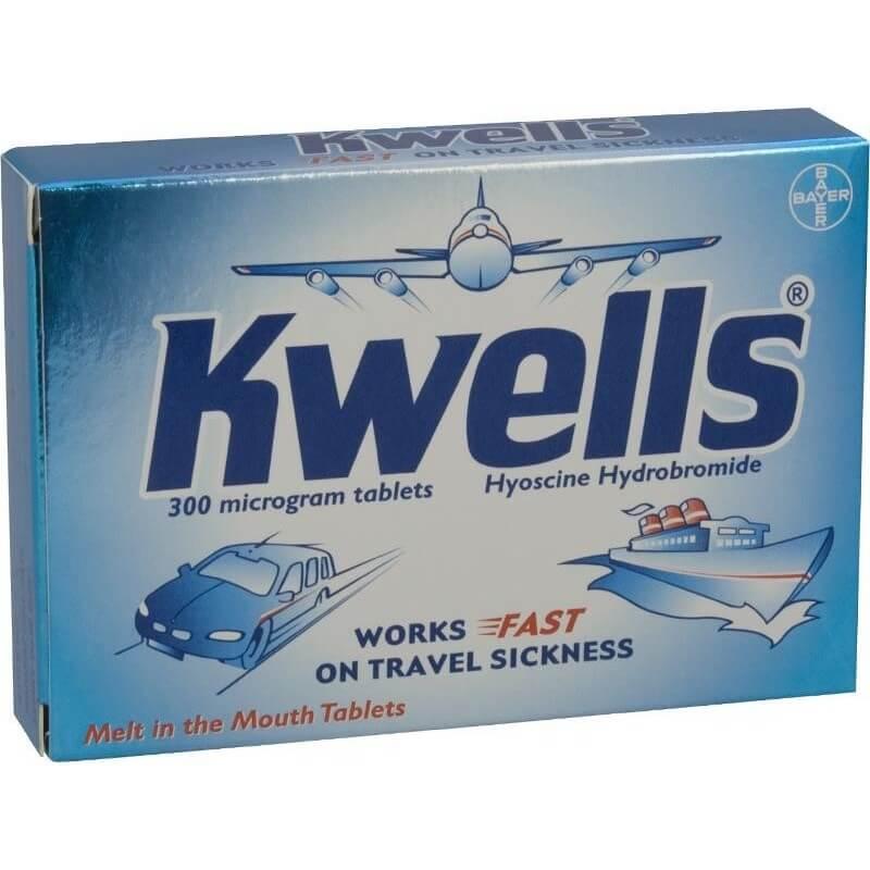 Kwells 300 Microgram Tablets 12Pk