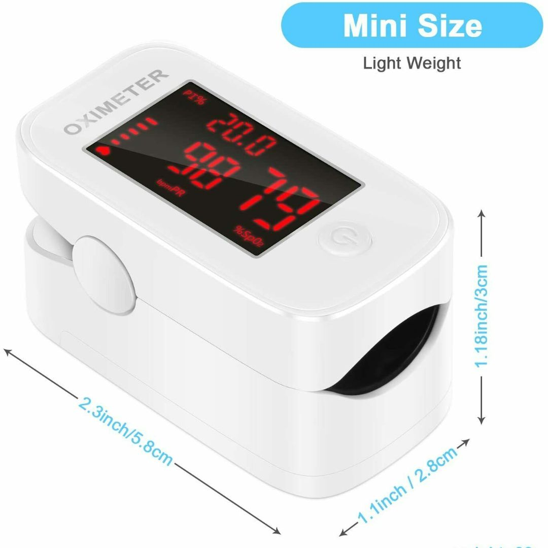 Lifemax Fingertip Pulse Oximeter