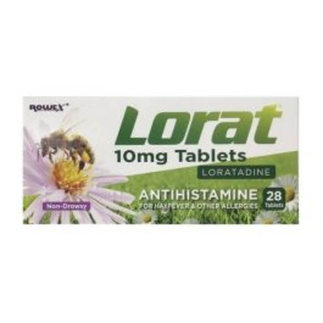 Lorat 10mg Tablets 28Pk