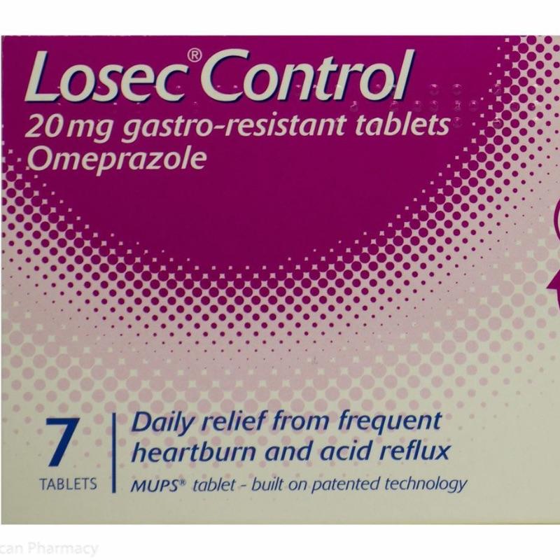 Losec Control 20 Mg Gastro-resistant Tablets