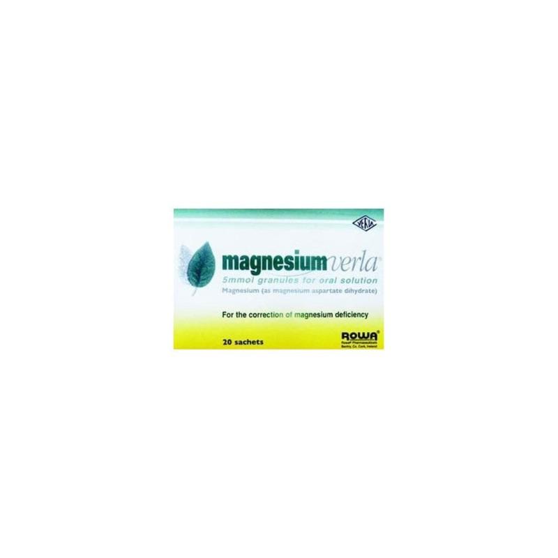 Magnesium Verla 5 Mmol Granules For Oral Solution 20Pk