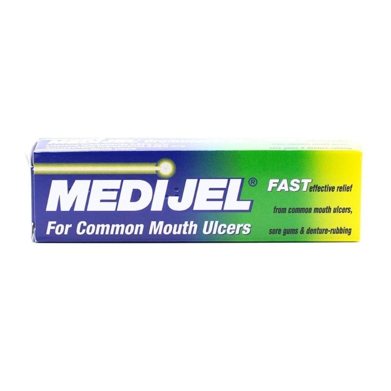 Medijel Oromucosal GelLidocaine Hydrochloride 0.66% W/wAminoacridine Hydrochloride 0.05% W/w 15g