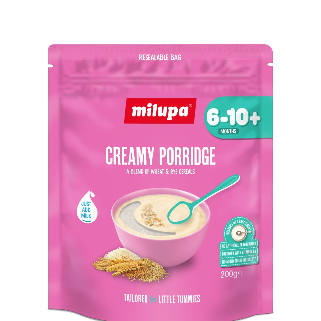 Milupa Stage 2 Creamy Porridge 200g
