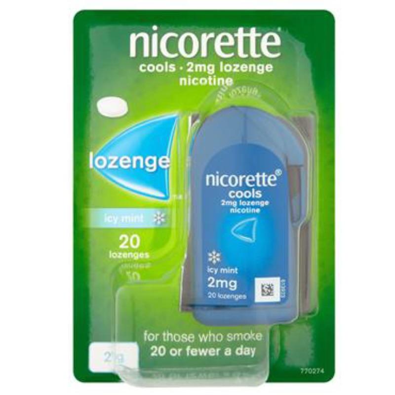 Nicorette Cools 2mg Lozenge