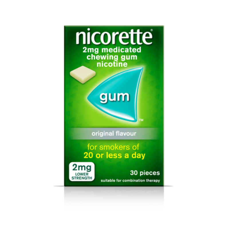 Nicorette 2mg Medicated Chewing-gum