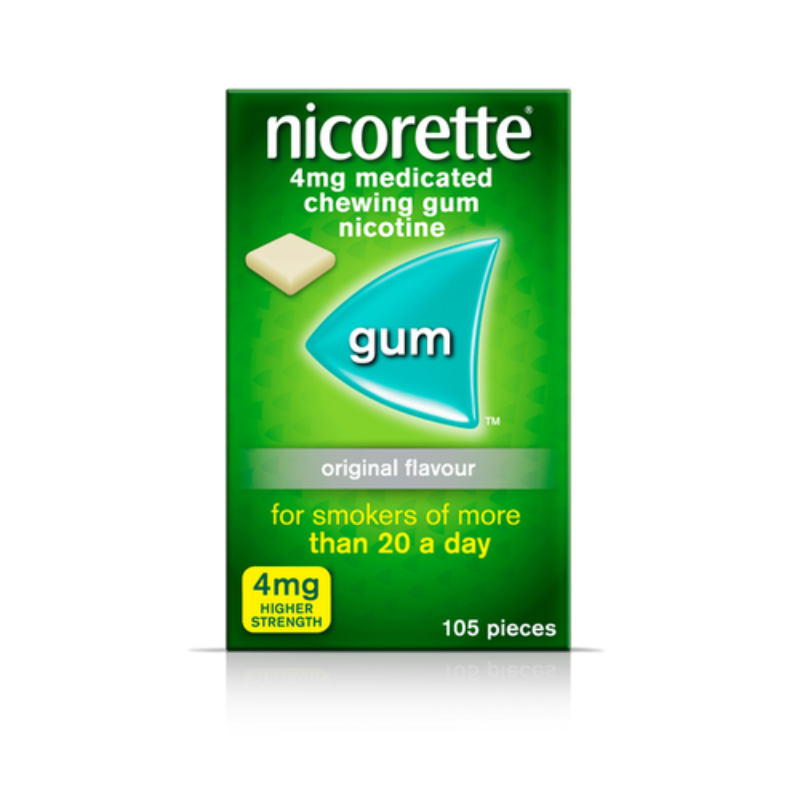 Nicorette 4mg Medicated Chewing-gum