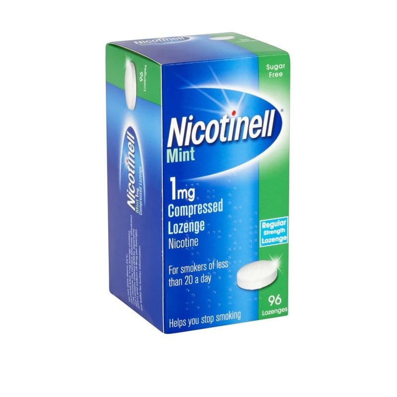 Nicotinell Mint 1 Mg Compressed Lozenge