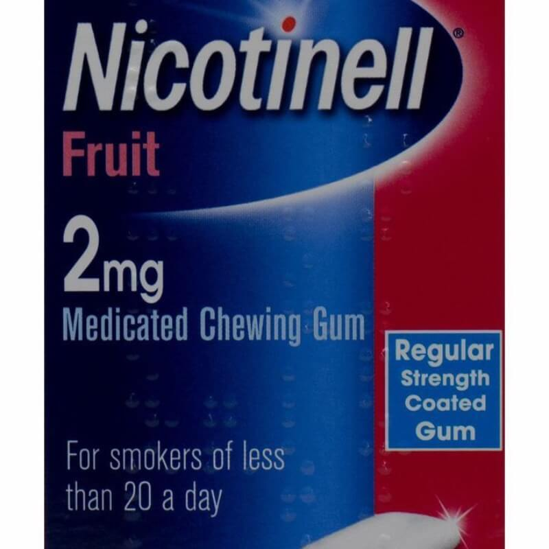 Nicotinell Fruit 2 Mg, Medicated Chewing-gums