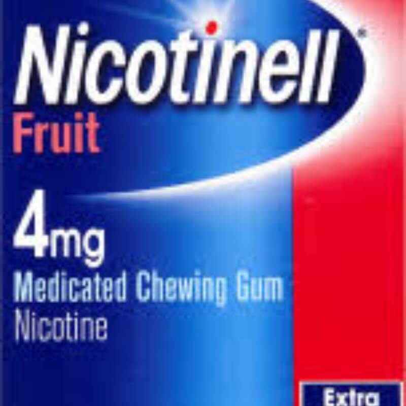 Nicotinell Fruit 4 Mg, Medicated Chewing-gum