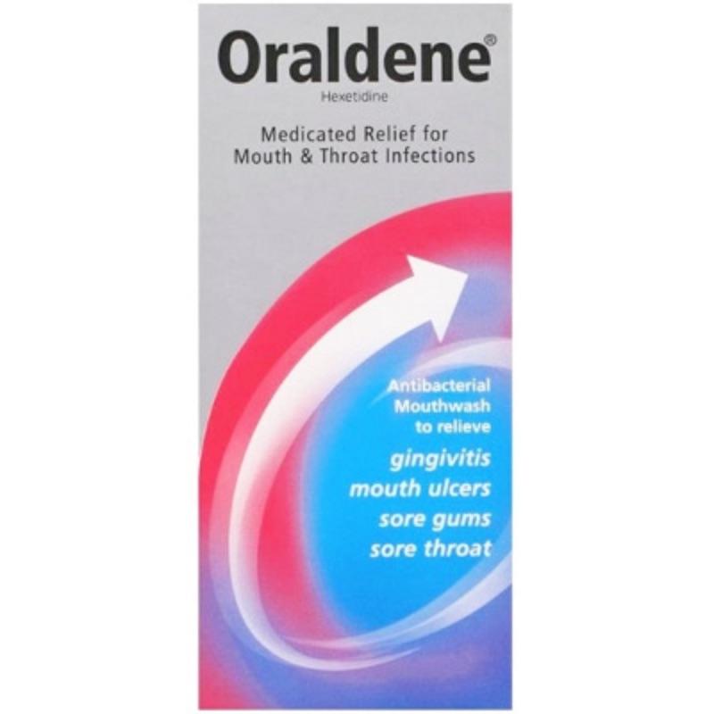 Oraldene 0.1% W/v Gargle/Mouthwash 200ml
