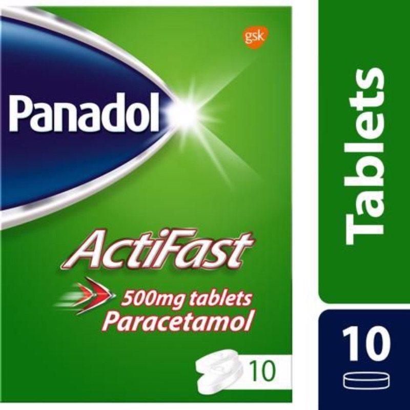 Panadol Actifast Tablets 500mg