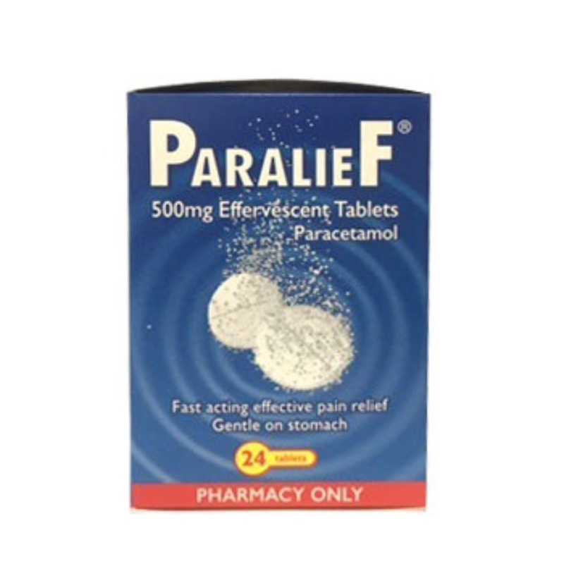 Paralief 500 Mg Effervescent Tablets 24Pk