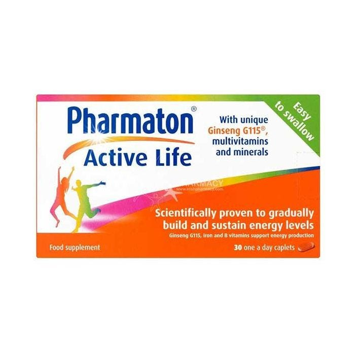 Pharmaton Active Life With Ginseng G115 Multivitamins & Minerals 30 Caps