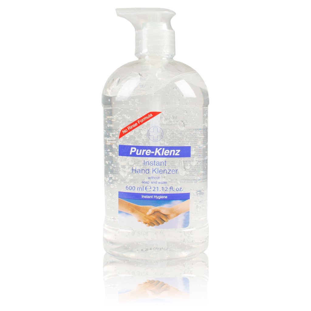 Pure-Klenz No Rinse Instant Hand Sanitiser (600ml)