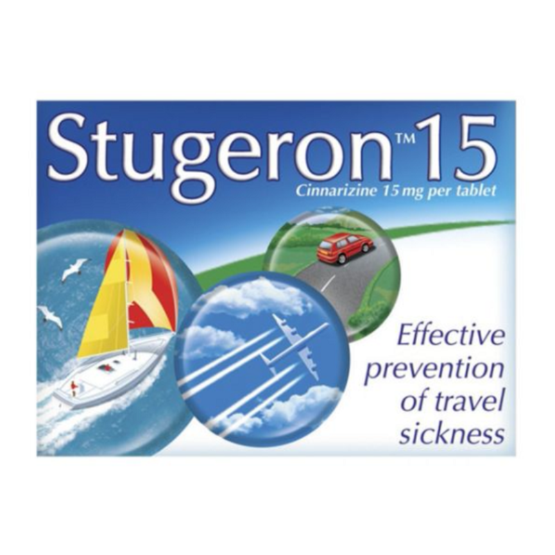 Stugeron 15 Mg Tablets 15Pk