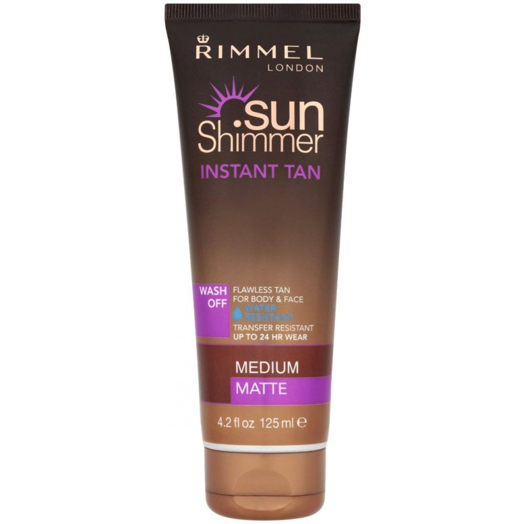 Sunshimmer Instant Tan Medium Matte 125ml