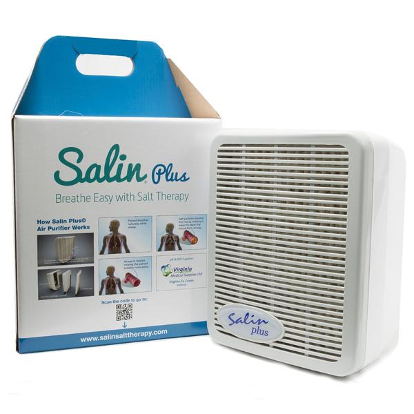 Salin Plus Breathe Easy – Air Purifier With Salt Therapy