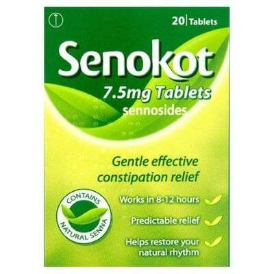 Senokot 7.5mg Tablets