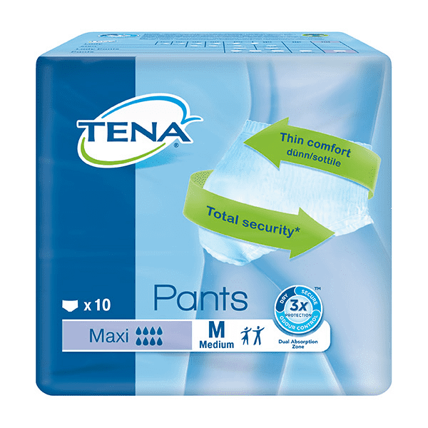Tena Pants Maxi Medium 10s