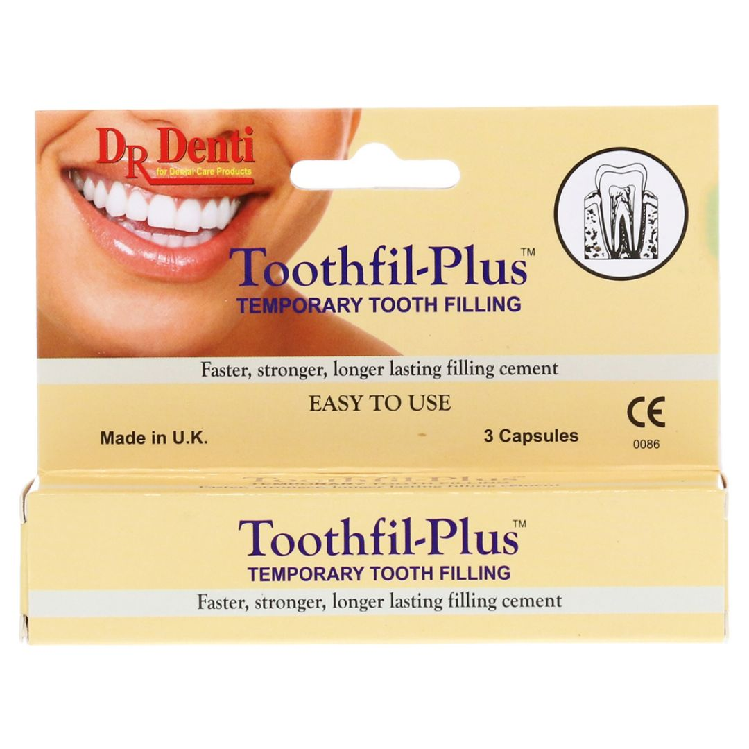 Dr Denti Toothfil-Plus Temporary Tooth Filling 3 Capsules