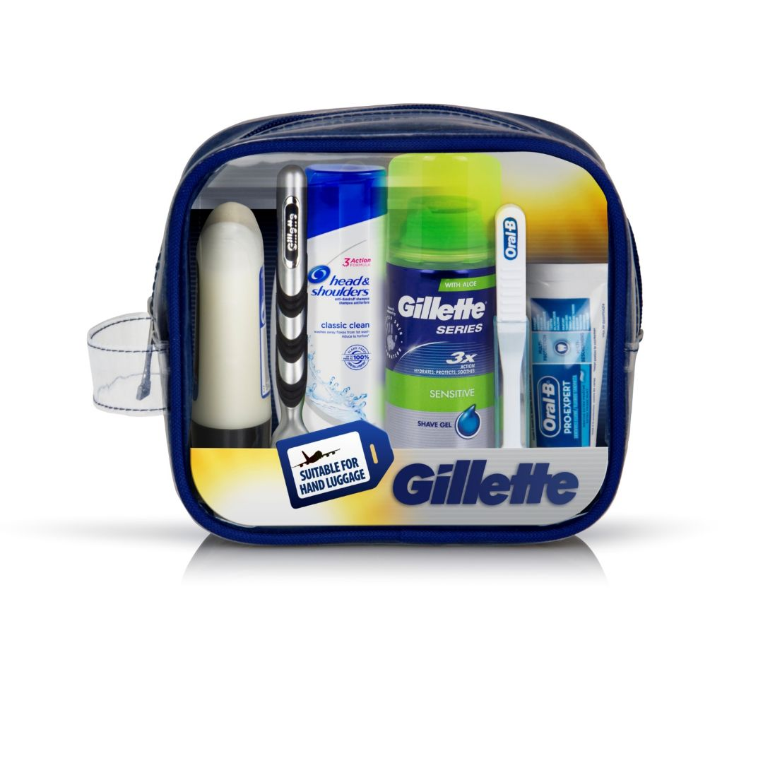 Gillette Travel Essentials Set