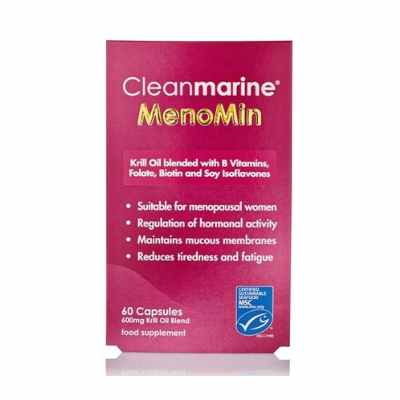 Clean Marine Menomin For Women 60 Tablets