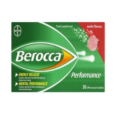 Berocca Performance Tablets Effervescent Exotic 30