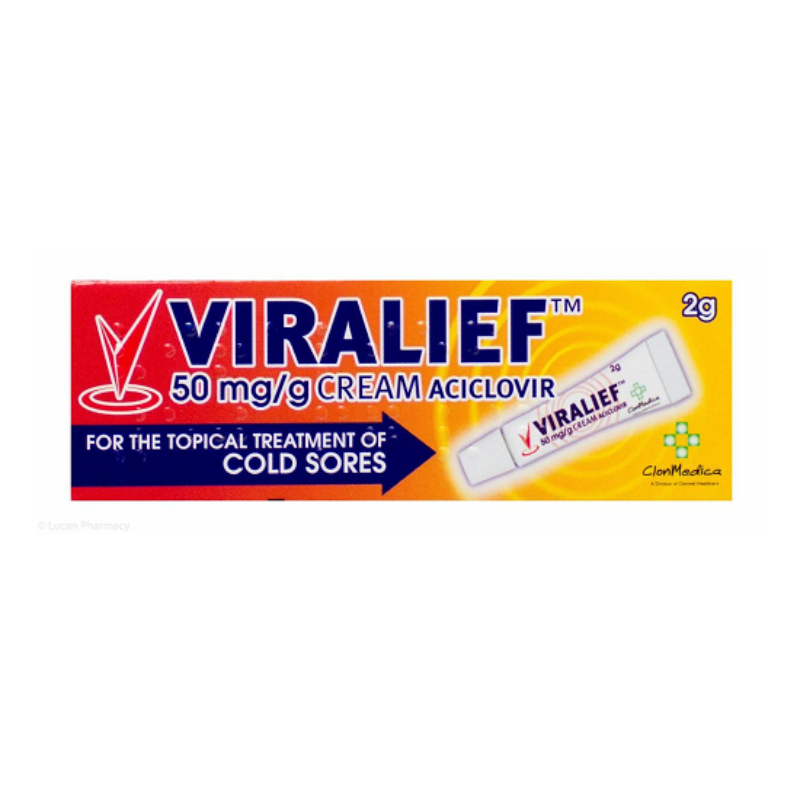 Viralief 50 Mg/g Cream 2g