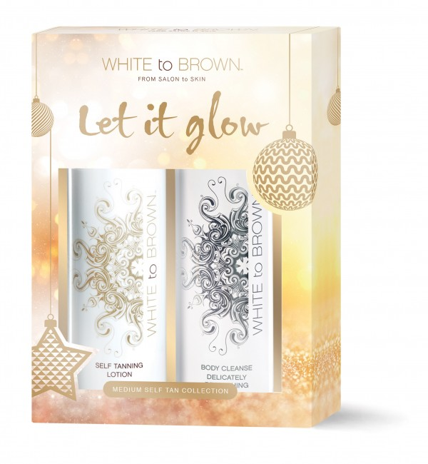 White To Brown Gift Set – Medium