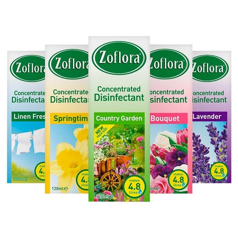 Zoflora 120ml Assorted Disinfectant