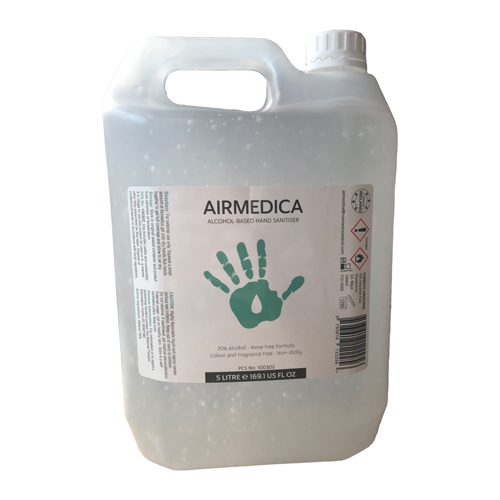 Airmedica 5LTR 70% Hand Sanitiser