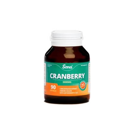 SONA Cranberry Capsules 90's