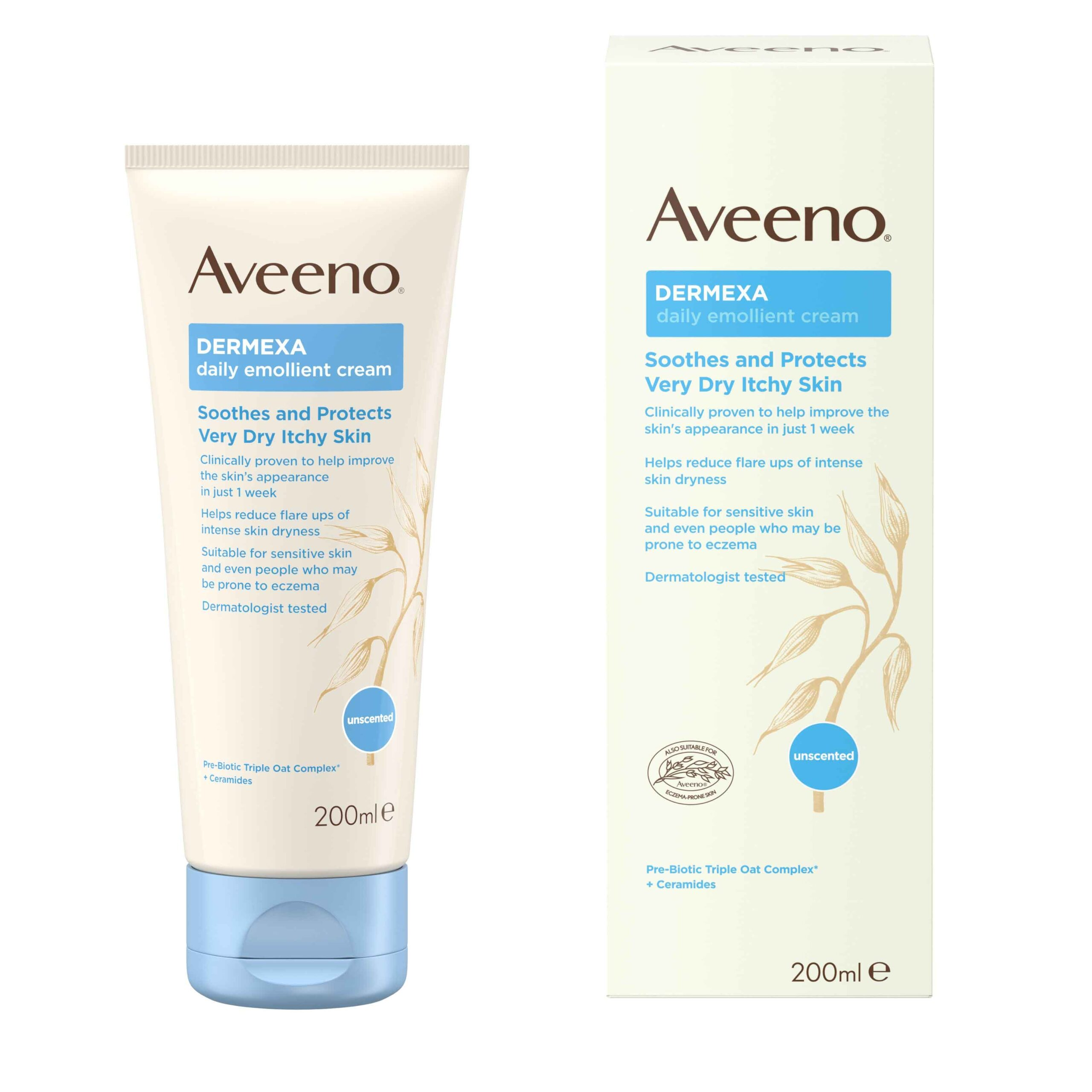 AVEENO® Dermexa Daily Emollient Cream 200ml