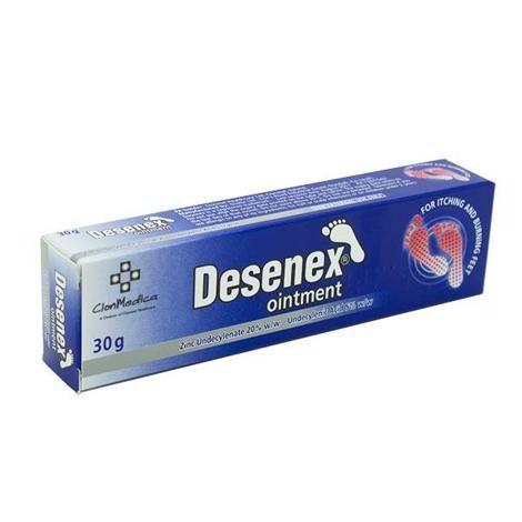 Desenex Ointment Zinc Undecylenate 20% W/w Undecylenic Acid 5% W/w 30g