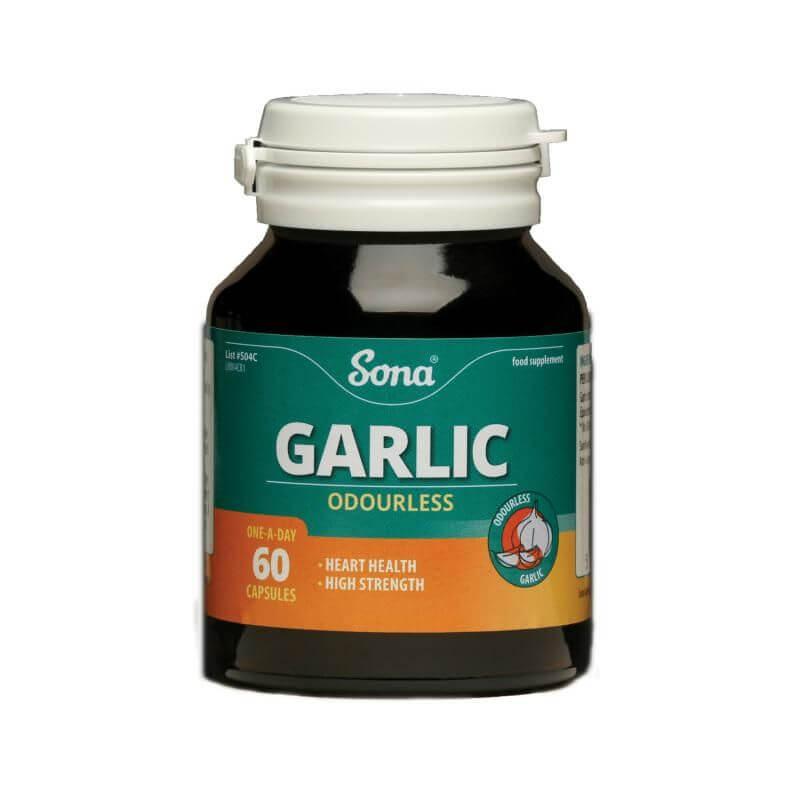 Sona GarlC And Vitamin C Tablets 60's