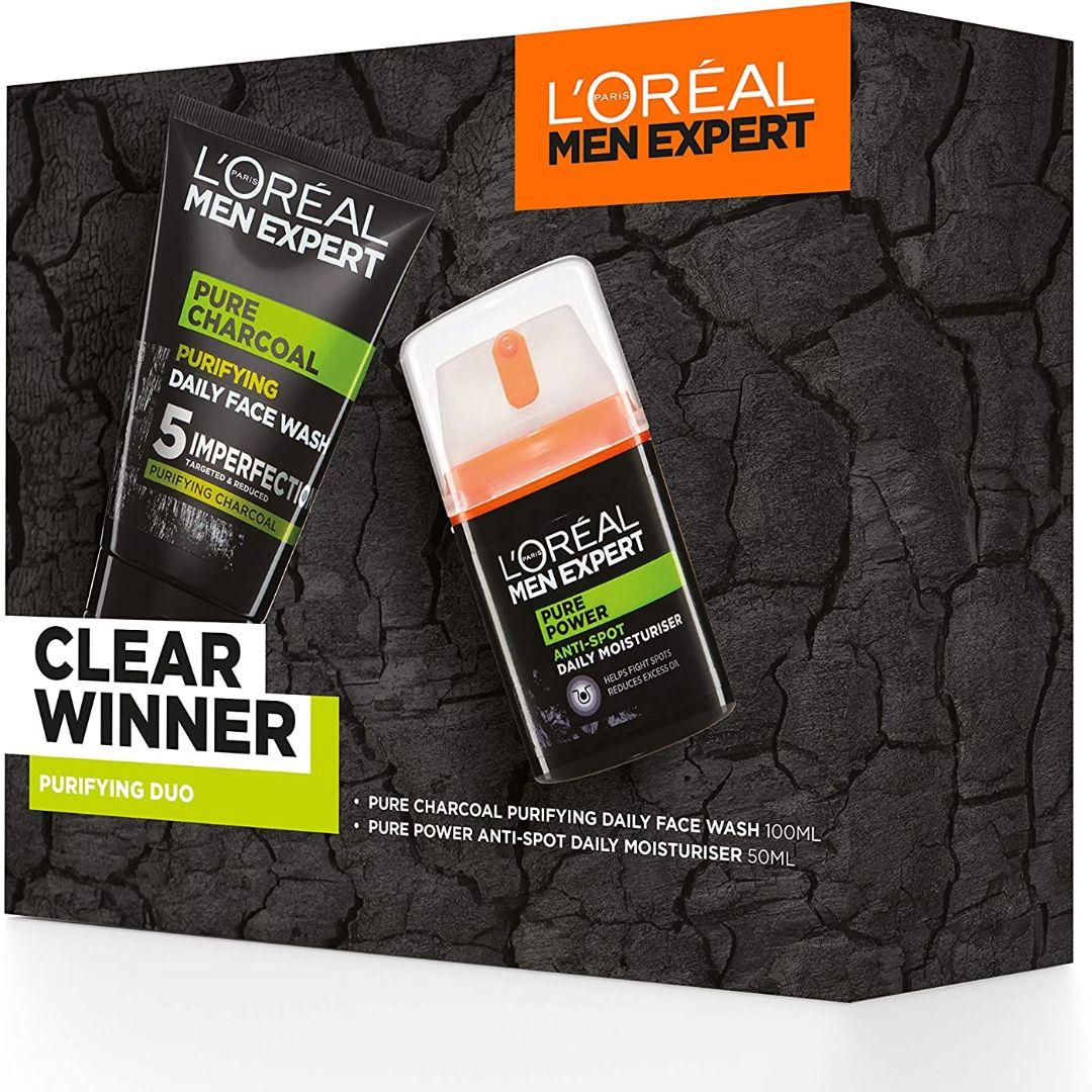 L'OREAL Men Expert Clear Winner Purifying Duo