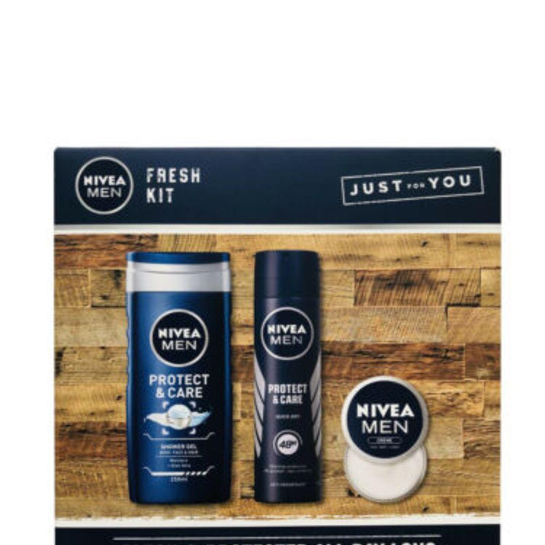 Nivea Men Fresh Kit Collection Anti-Perspirant Shower Gel & Creme Gift Set