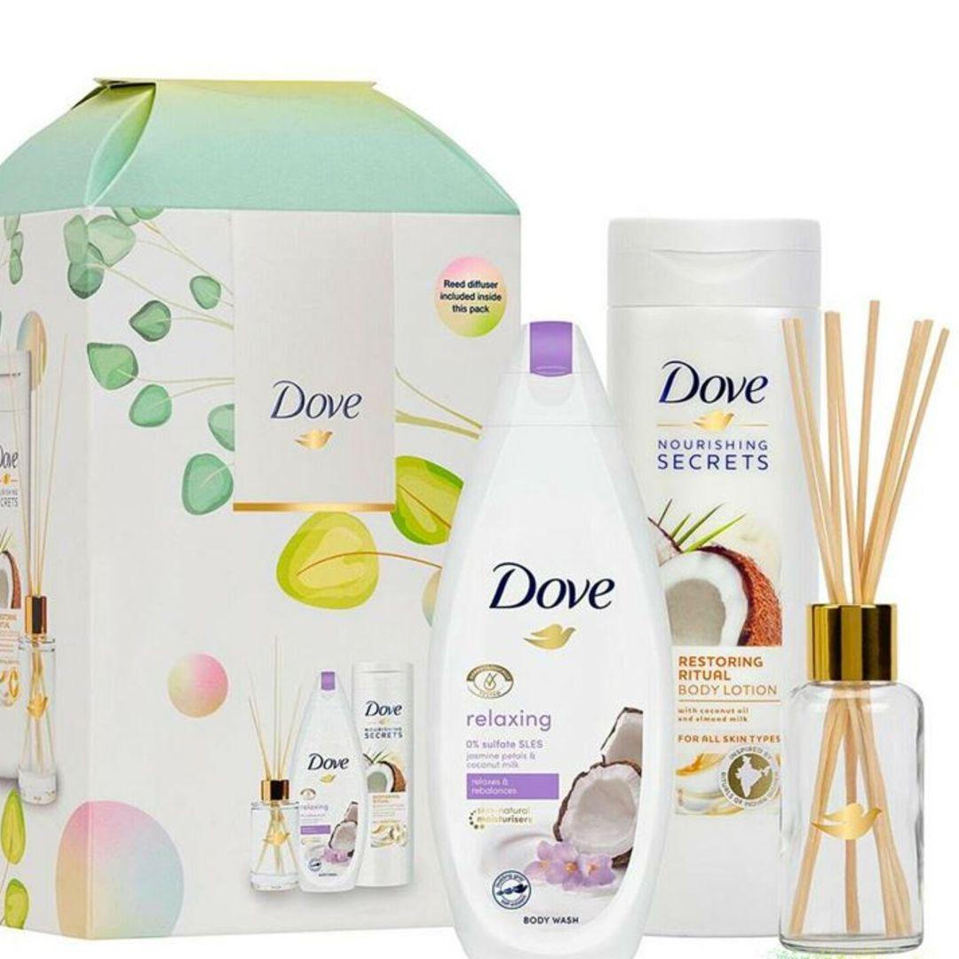 Dove Nourishing Secrets Relaxing Ritual Gift Set With Reed Diffuser