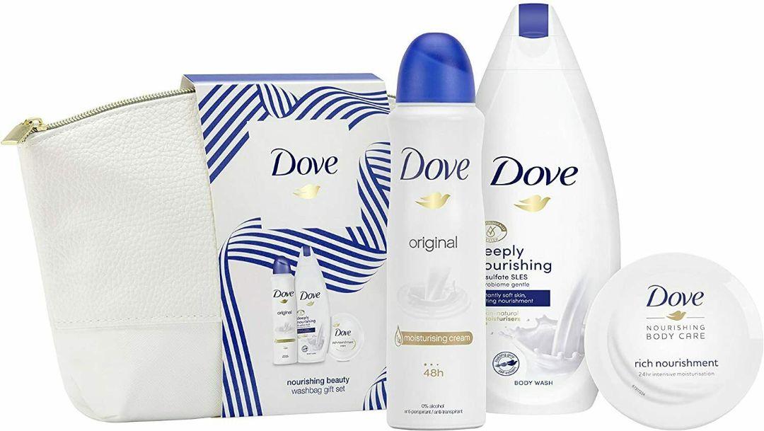 Dove Nourishing Beauty Wash Bag Gift Set Healthwise
