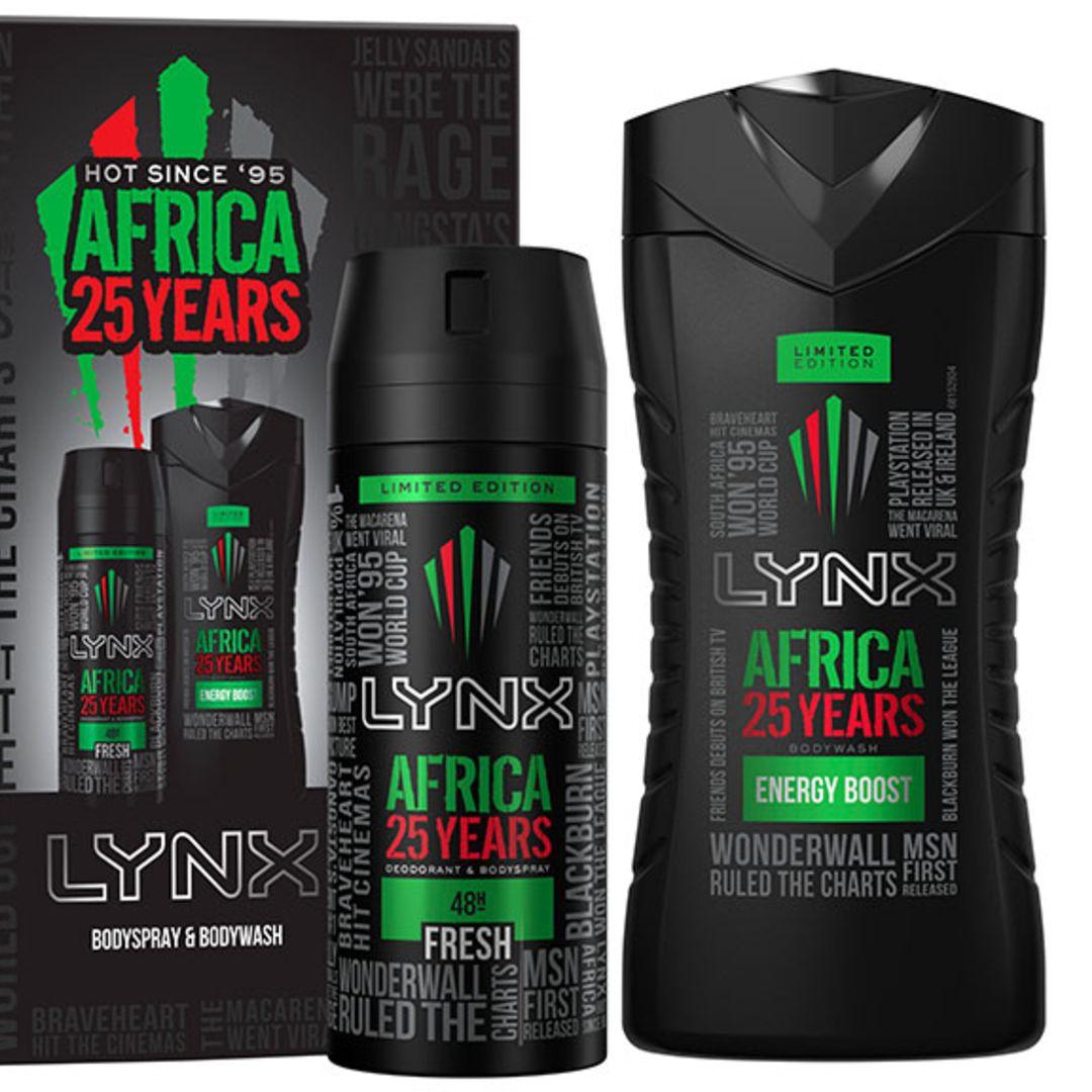 Lynx Africa 25 Years Duo Gift Set
