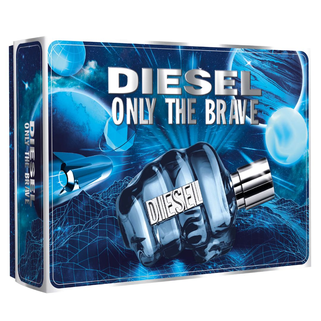 Diesel Only The Brave EDT 2 Pce Gift Set
