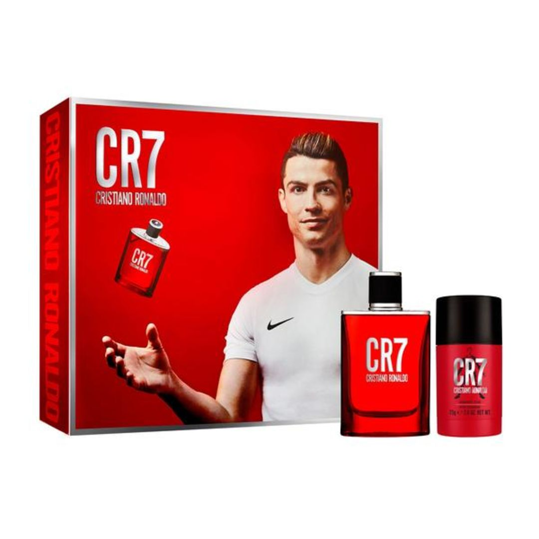 CR7 EAU DE TOILETTE 50ML & BODYSPRAY GIFT SET