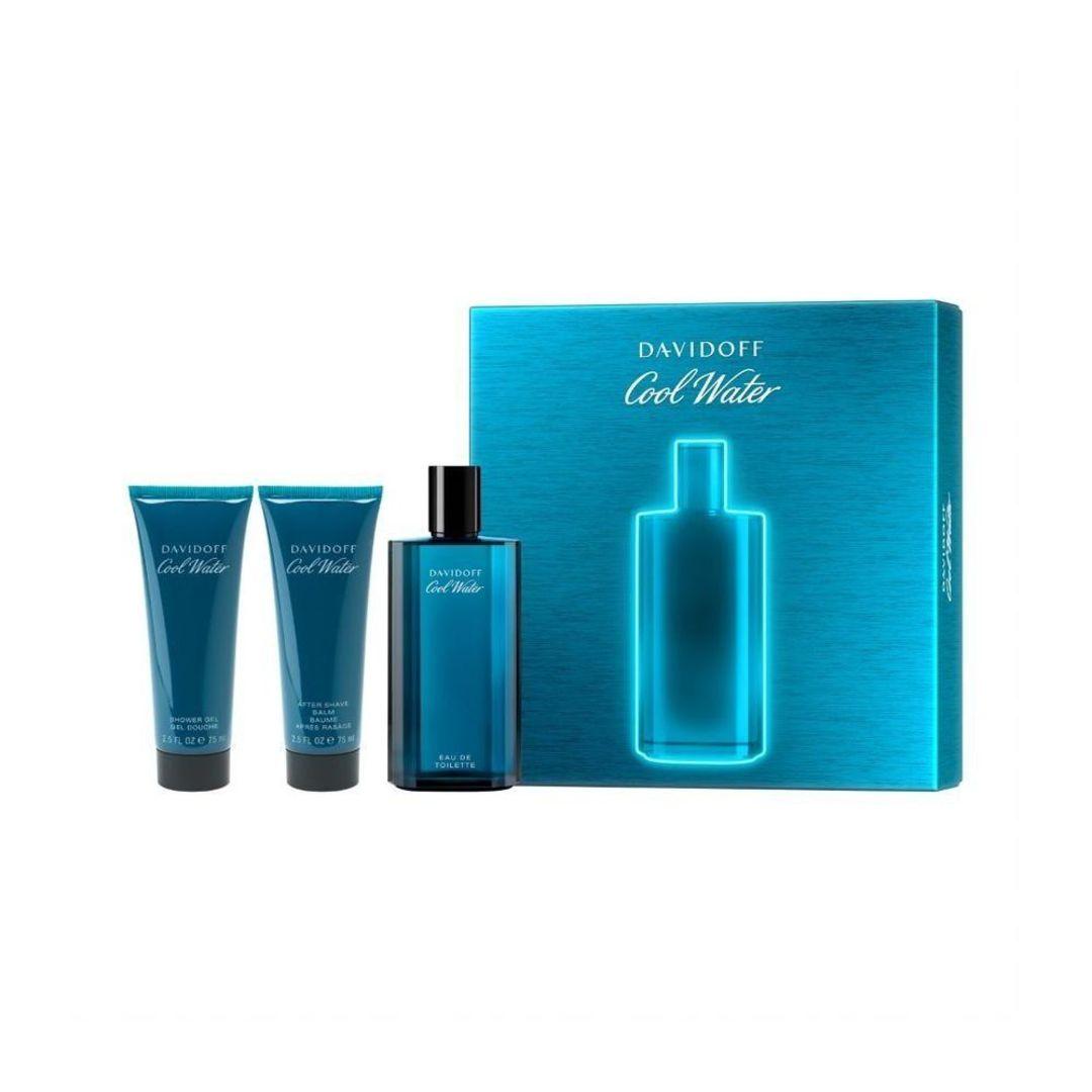 Davidoff Cool Water Man Edt125Ml + Shower Gel + After Shave