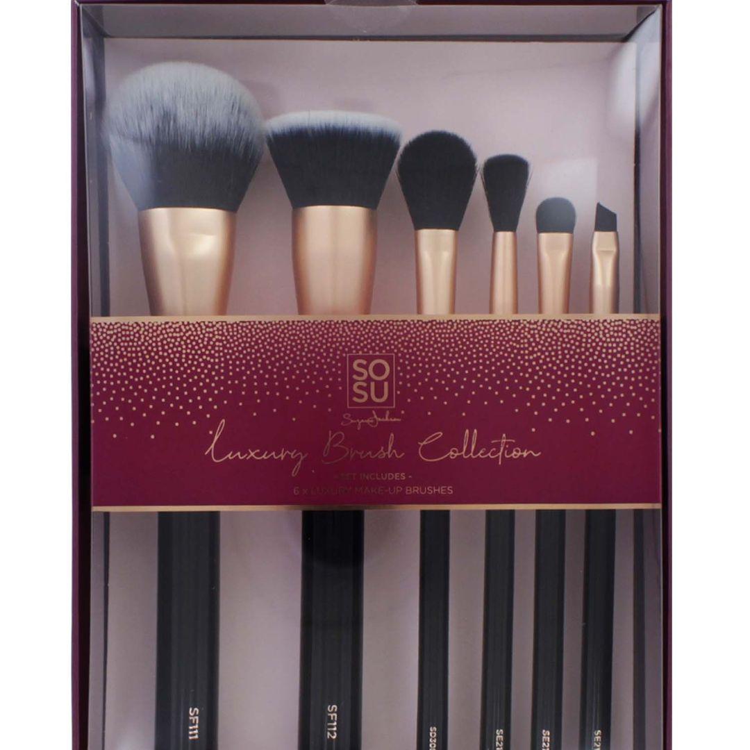 Sosu Luxury Brush Collection 6 Piece Set