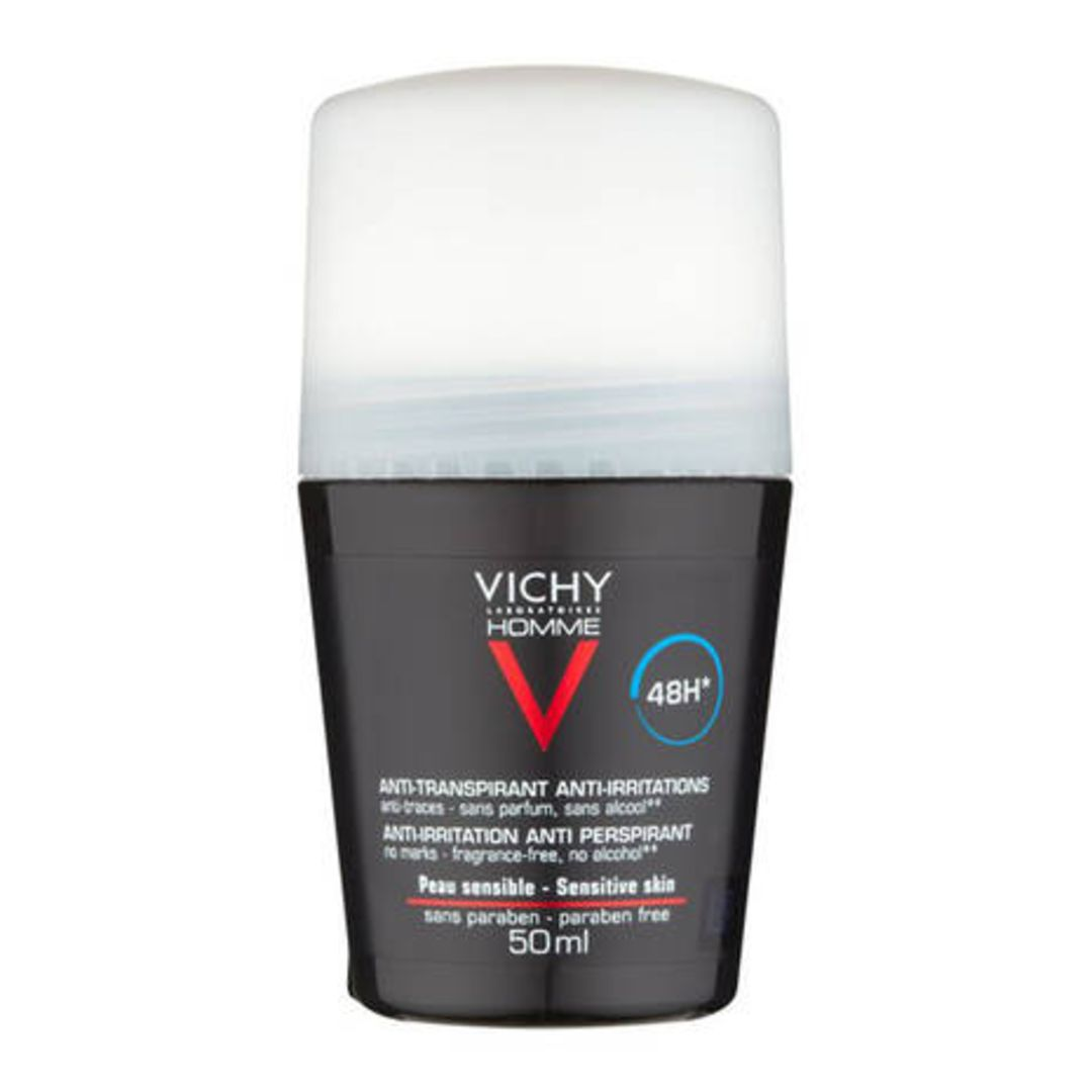 Vichy Homme Deo Rollon 48h Sensitive 50ml
