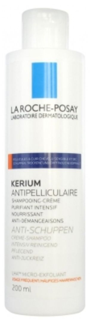 La Roche Posay Kerium Dry Scalp Shampoo 200ml