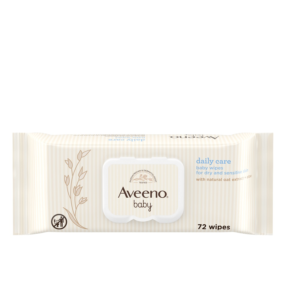 Aveeno® Baby Daily Care Baby Wipes 72